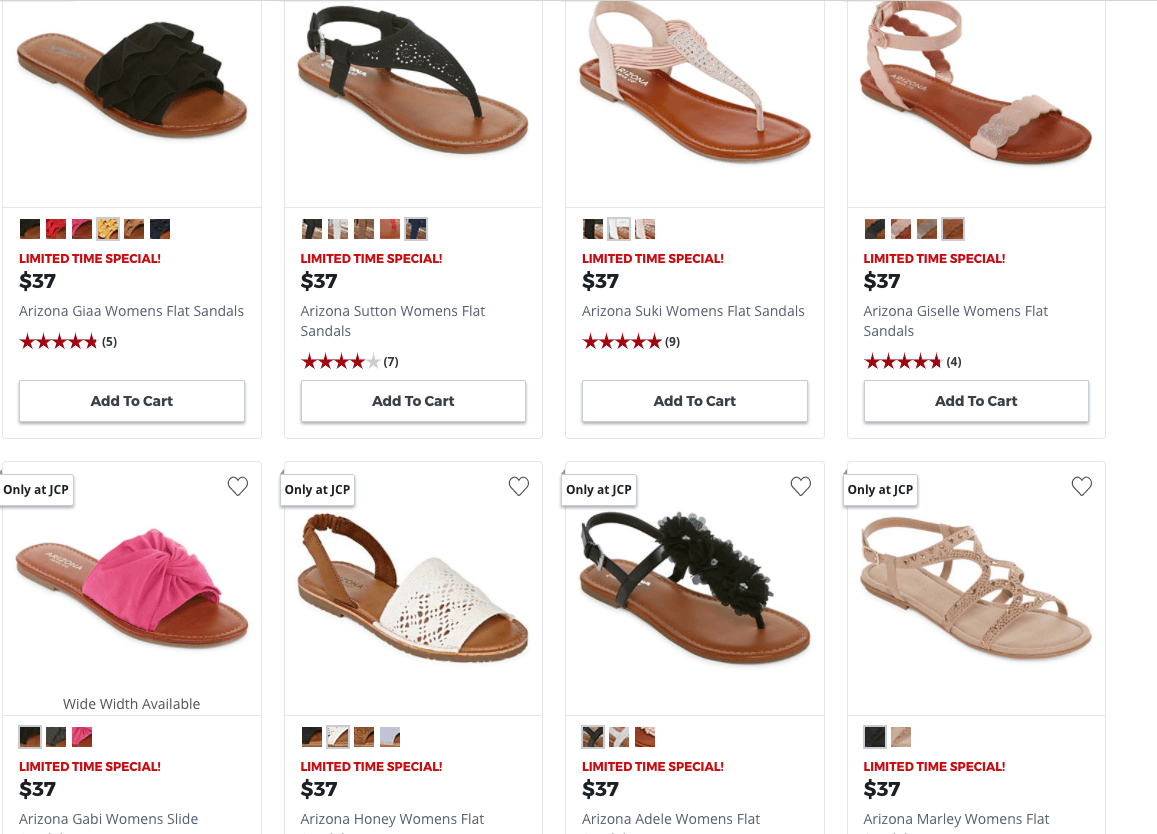 35b4cb02a JCPenney Buy 1 Pair of Women s Dress Shoes or Sandals Get 2 ...