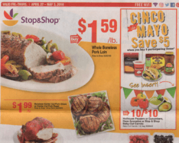 Stop & Shop Preview Ad Scan for the week of 4/27