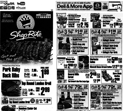 ShopRite Preview Ad for the week of 4/29/18