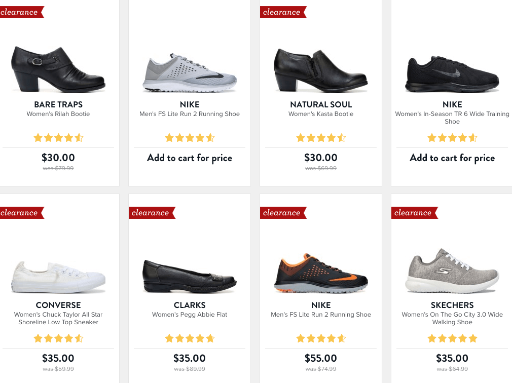65814342c003 Famous Footwear Clearance Buy 1 Get 1 50% Off +  10 off  50 Nike ...