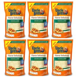 Uncle Bens Flavor Infusions just $1.34 at Stop & Shop, Giant, and Giant/Martin