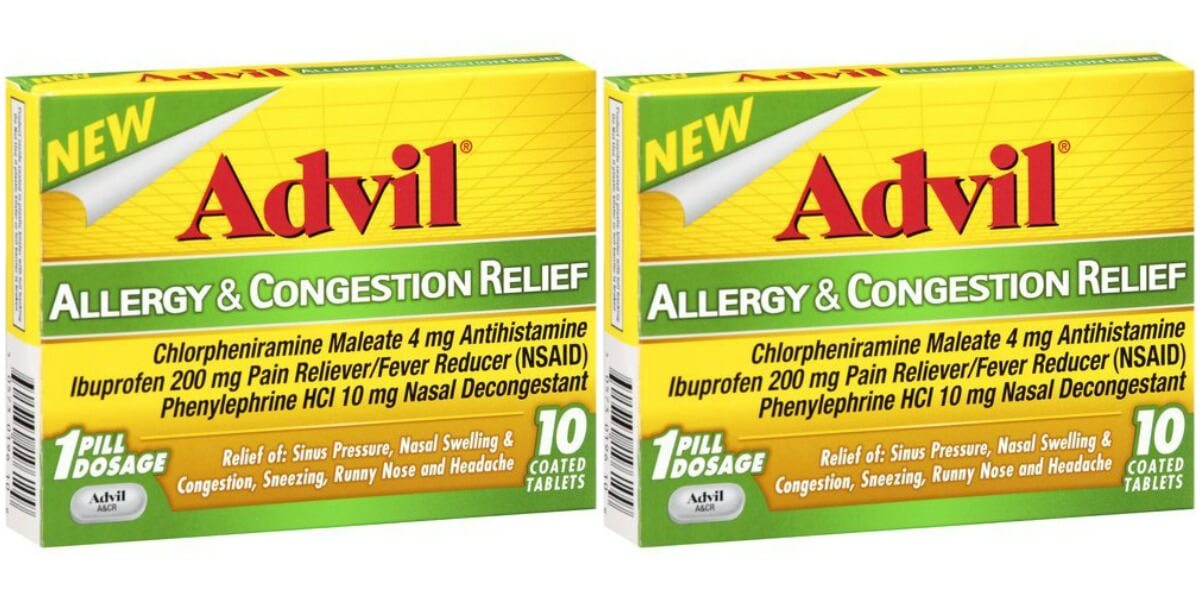 photo regarding Advil Printable Coupon named Refreshing $3 Advil Allergy Coupon - Free of charge at ShopRiteLiving Abundant
