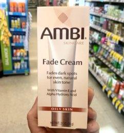 New $1/1 Ambi Fade Cream Coupon & Deals!