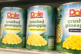 Dole Canned Pineapple only $0.25 at Stop & Shop and Giant!
