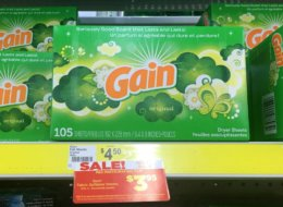 Gain Fabric Softener Sheets Just $0.02 Per Load at Dollar General!
