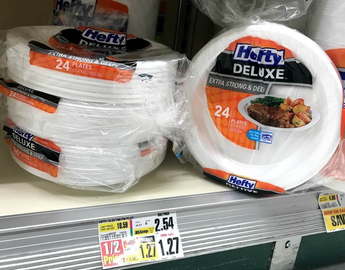 Hefty Foam Platters, Bowls and Plates just $0.77 at ShopRite!Living ...