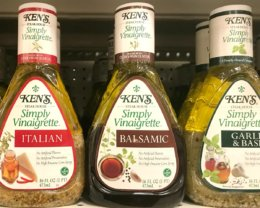 Kens Simply Vinaigrette Dressing just $0.13 at ShopRite! {4/29-4/30 Only}
