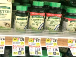 ShopRite Shoppers - $2 Money Maker on Nature's Truth Vitamins!