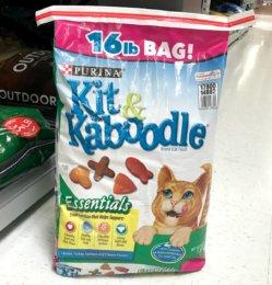 New $2/1  Purina Kit & Kaboodle Dry Cat Food Coupon & Walmart Deal!