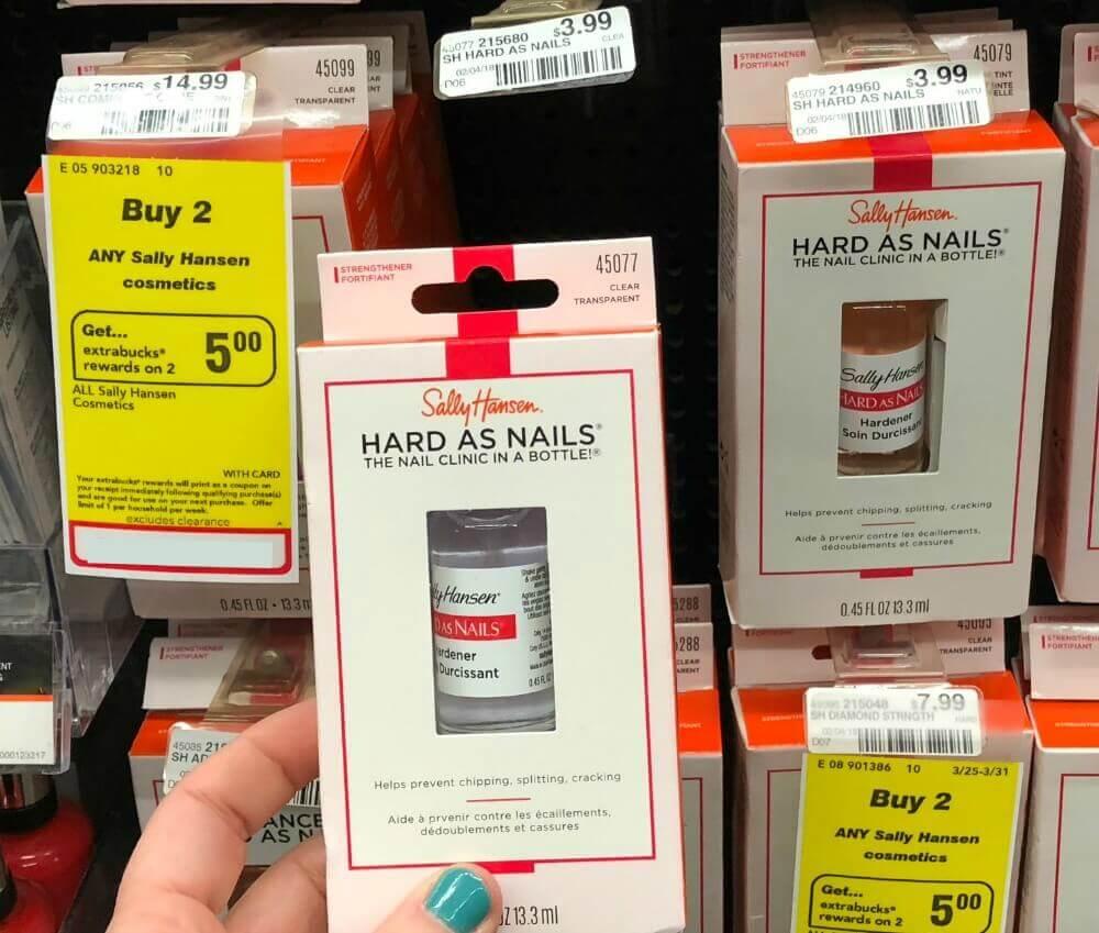 FREE Sally Hansen Hard as Nails Hardener at CVS! {4/29, Rebate ...