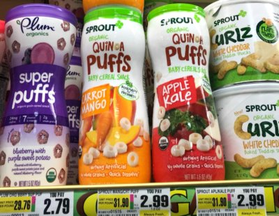 Sprout Organic Baby & Toddler Snacks Just $0.50 ShopRite!