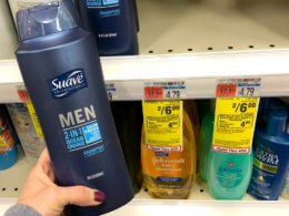 Suave Men and Suave Professional Hair Care Only $1.00 at CVS!
