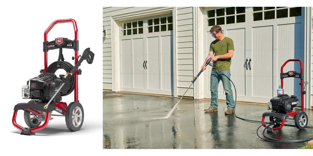 Sears Craftsman 020698 2700psi 21 Gpm Gas Pressure Washer Free