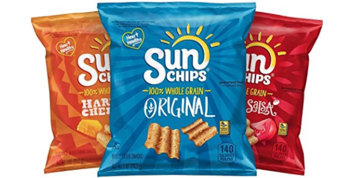 Sunchips Multigrain Chips Variety Pack 40 Count 1188 30bag