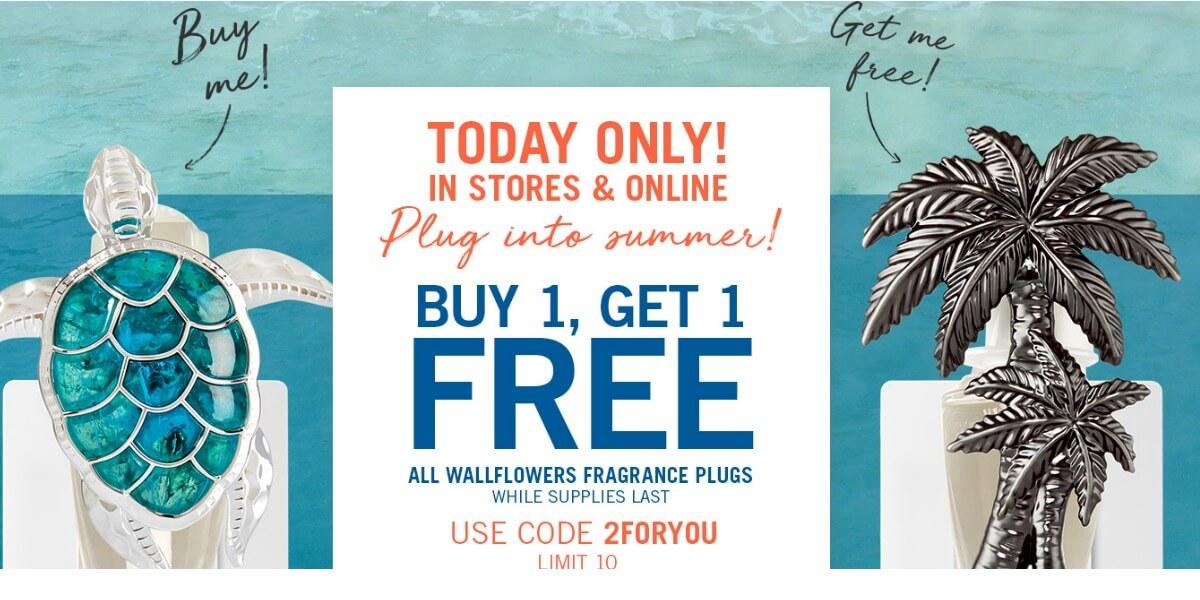 Bath and Body Works. Buy 1 Get 1 Free Wallflowers Fragrance ...