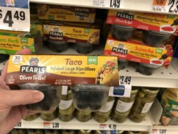 Today Only! Better Than FREE Pearls Infused Olives To Go at Stop & Shop {Ibotta Rebate}
