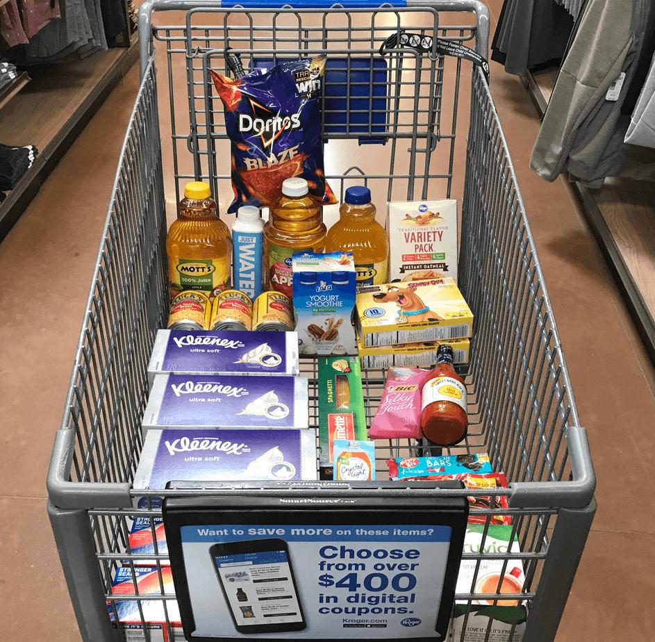 Amandas Kroger Shopping Trip 1191 Over 57 In Savings Off