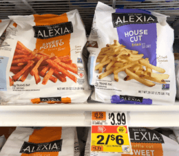 Alexia Fries only $1.50 Stop & Shop, Giant, and Giant/Martin