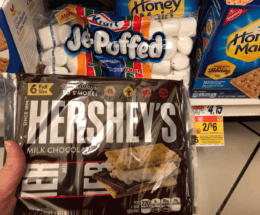 Hershey's 6pk Chocolate Bars, Nabisco Graham Crackers & Kraft Marshmallows Just $1.00 at Stop & Shop, Giant, and Giant/Martin
