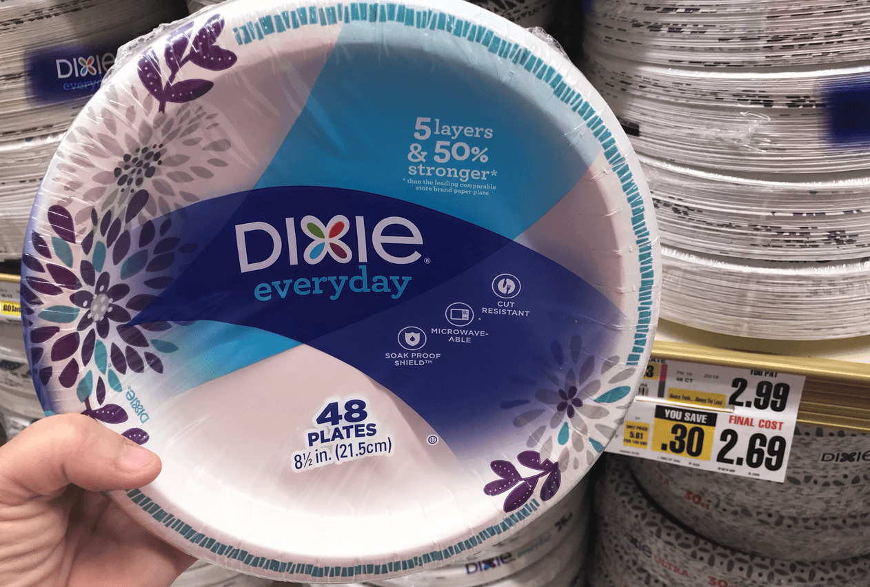 Dixie Ultra & Everyday Paper Plates Just $1 29 at ShopRite