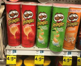 Rite Aid Shoppers - $1 Pringles Canisters!