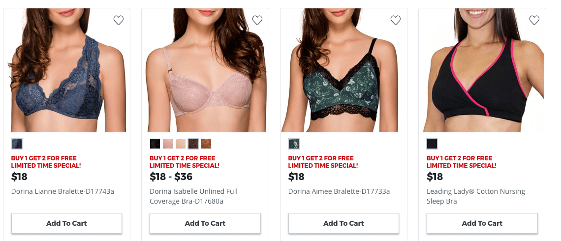 a01fad8fde2 Check out the great deals at JcPenney on Bras. Buy 1 Get 2 FREE Free store  pick up if available or free shipping  99+