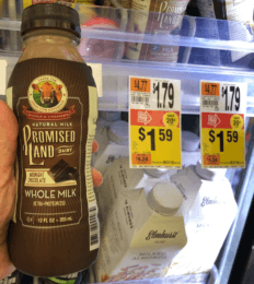 FREE Promised Land Milk Singles  at Stop & Shop {8/17}