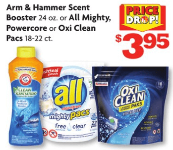 All Laundry Detergent Pacs only $1 95 at Family Dollar