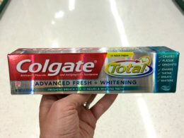 Colgate Total Advanced Toothpaste as Low as FREE at CVS!