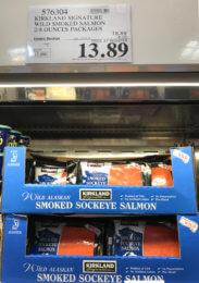 Costco: Hot Deal on Kirkland Signature Wild Sockeye Smoked Salmon