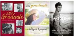 70% off Personalized Graduation Cards