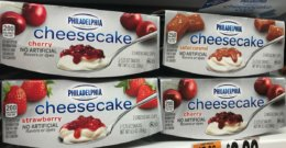 New $1/2 PHILADELPHIA Cheesecake Cups or Bagel Dip Coupon - $0.49 at ShopRite & More!