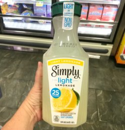 New $0.75/1 Simply Light Lemonade or Orange Coupon - $0.49 at ShopRite {12/16} & More!