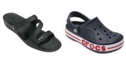Crocs Additional 50% Off Select Styles Buy 2 Get Extra 15% Off Starting at $5