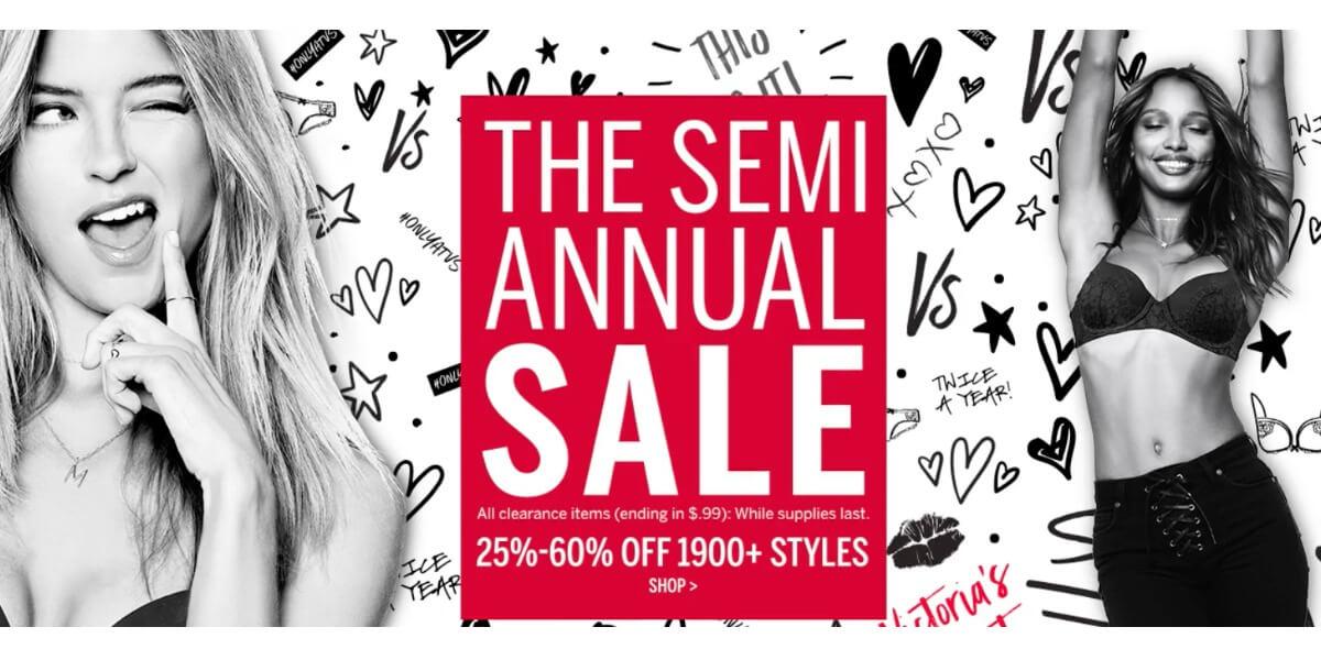 ce97251046d0b Victoria's Secret Semi-Annual Sale Bras Starting at $9.99, Panties ...