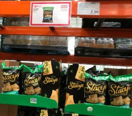 Costco: Hot Deal on Stacy's Organic Simply Naked Pita Chips