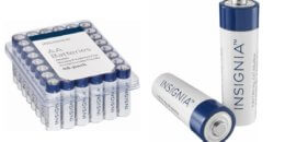 Insignia - AA or AAA Batteries (48-Pack) $7.99 (Reg. $14.99)