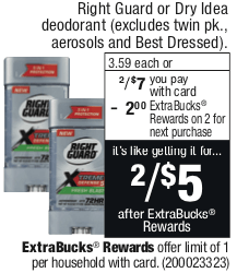 Right Guard Xtreme Deodorant as Low as FREE at CVS!Living