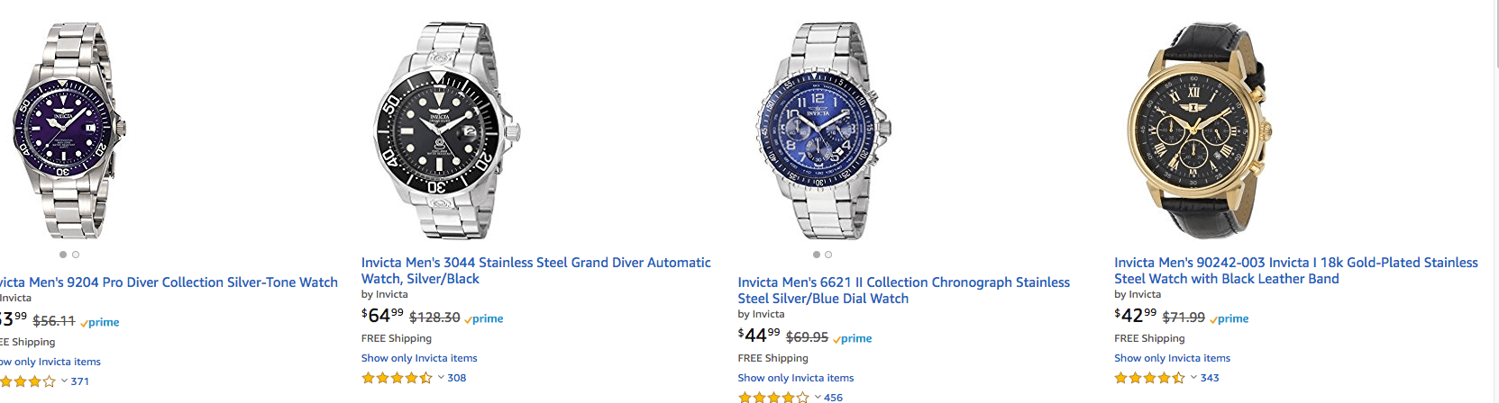 c9996a214b4b Up to 65% Off Father s Day Watch Gifts from InvictaLiving Rich With ...
