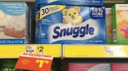 Snuggle Fabric Softener Just $1 at Dollar General!
