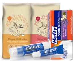Today's Top New Coupons - Save on Scrubbing Bubbles, Abreva, Hefty & More