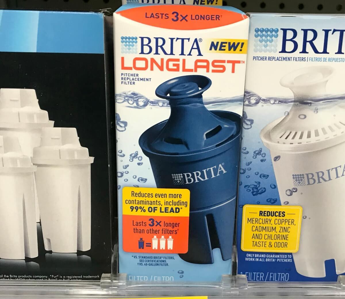 New $3/1 Brita Longlast Filters, Standard Filters or Ultramax Water