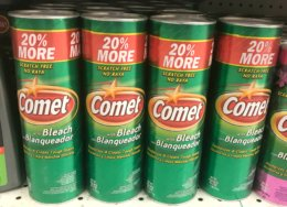 Target Shoppers - $0.74 Comet Cleaners!