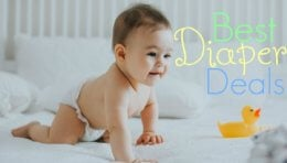 Best Diaper Deals – Week of 8/03
