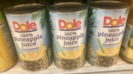 Huge Money Maker on Dole Pineapple Juice, Dole Dippers & More at ShopRite{8/26-Ibotta Rebate}