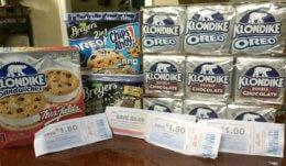 HOT! Quadruple Dip on Unilever Ice Cream at ShopRite!