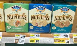 Blue Diamond Nut Thins Crackers as Low as $0.19 at ShopRite!