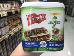 New $1/1 French's Crispy Jalapenos, Dill Pickle or Red Pepper Coupon + Deals!