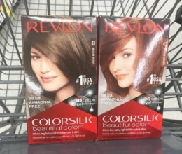 Rite Aid Shoppers - $2.50 Revlon Color Silk Hair Color