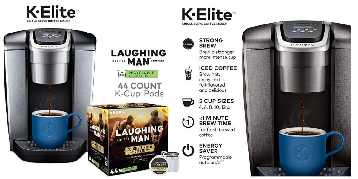 Prime Day Deals: Keurig K-Elite Single Serve Coffee Maker +